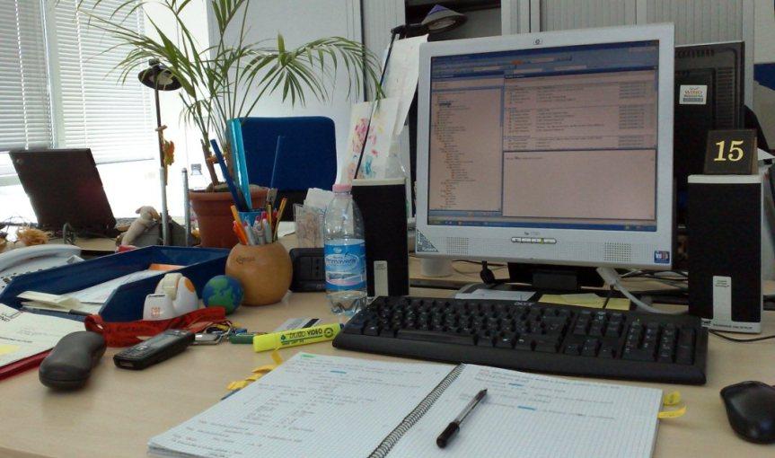 Dialogo in ufficio