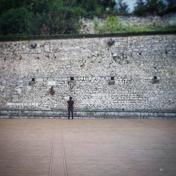 Il muro delvanto