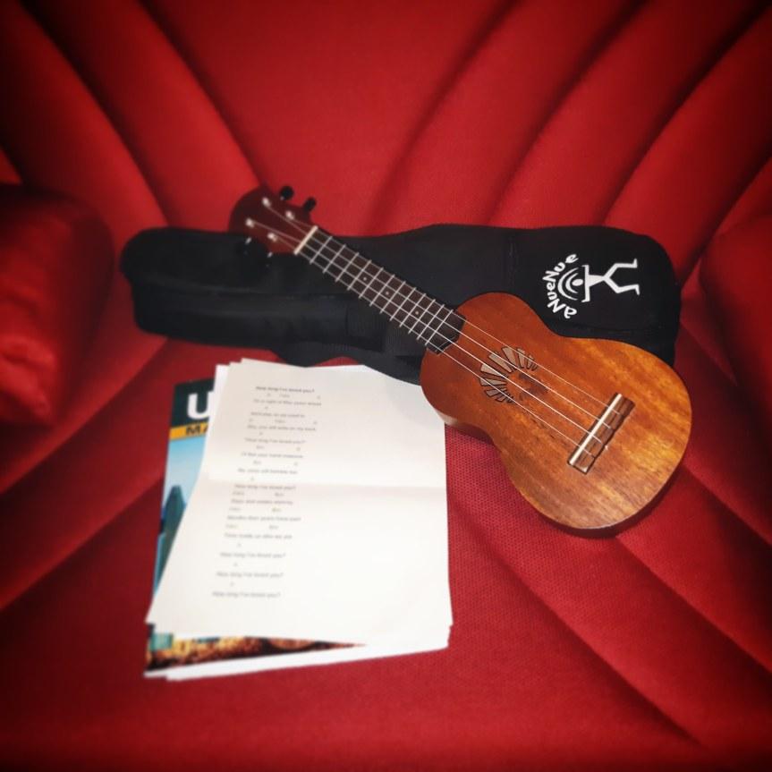 I play uke