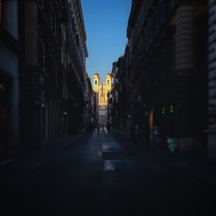 Roma città deserta